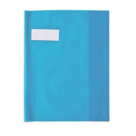 Protège-cahier Elba Styl SMS maxi formats 24x32cm Bleu