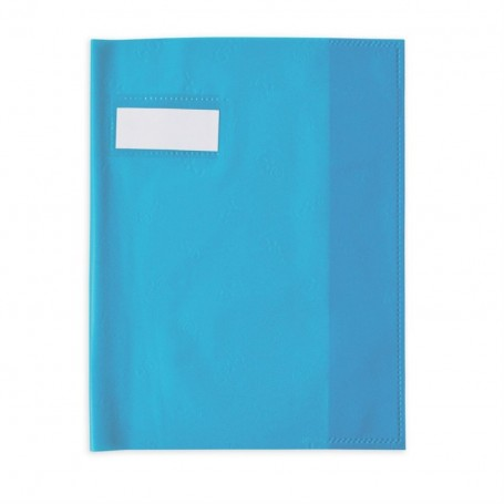 Protège-cahier Elba Styl SMS petits formats 17X22cm Bleu