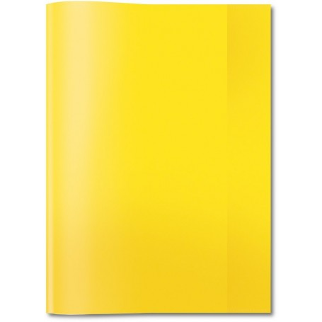 Protège-cahier Elba Styl SMS  A4 21X29.7cm Jaune