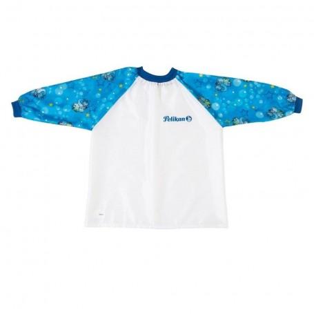 Tablier de peinture enfants Pelikan boy manche bleu pour age 6 à 9 ans