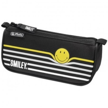 Trousse rectangulaire Herlitz Sport Smiley B&Y