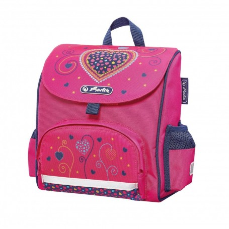 "Sac à goûter Herlitz Mini Softbag ""Pink Hearts"""