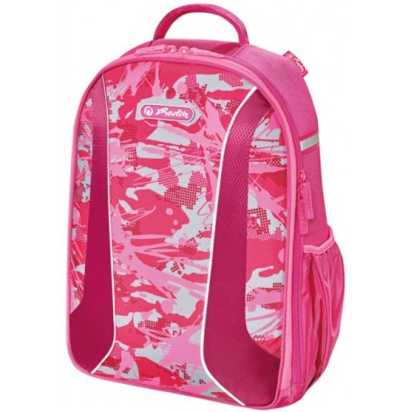 "Sacà dos Herlitz Rookie be.bag AIRGO ""Camouflage pink"""