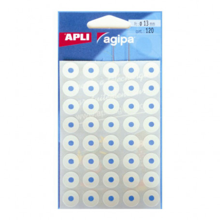 Pochette de 120 Œillets Blancs adhésifs Agipa
