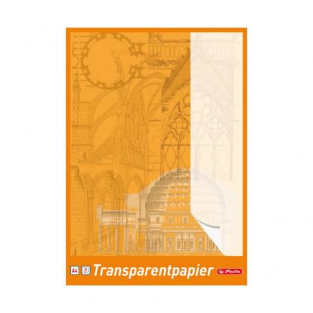 Papier calque A4 Herlitz - Bloc de 30 feuilles