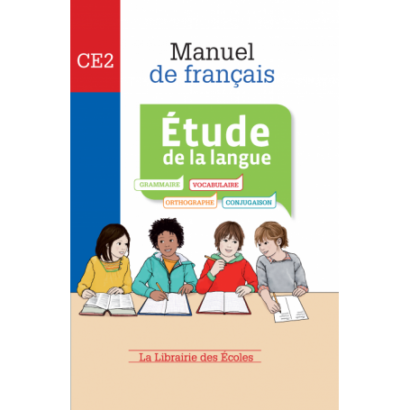 Manuel de français – Étude de la langue – CE2