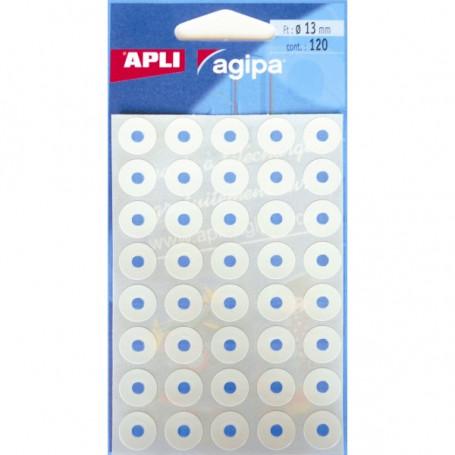 Pochette de 240 Œillets Blancs adhésifs Agipa