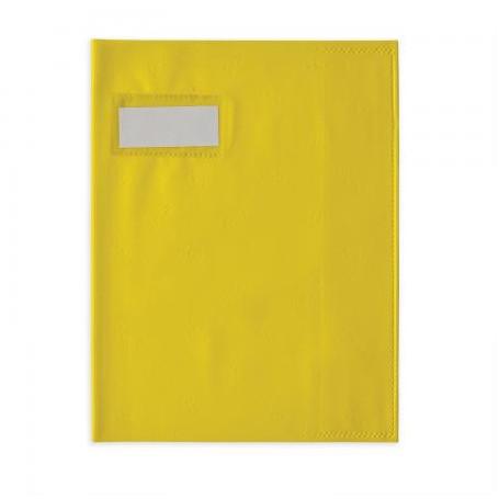 Protège-cahier Elba Styl SMS petits formats 17X22cm Jaune