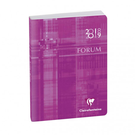 Agenda Scolaire Forum Metric 2019/2020