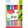 Stylo feutre Maped Graph'Peps couleurs assorties