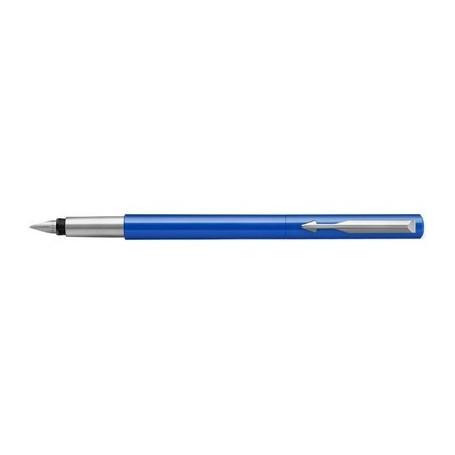 Stylo  plume Parker Vector Refresh pointe fine de Luxe - Bleu