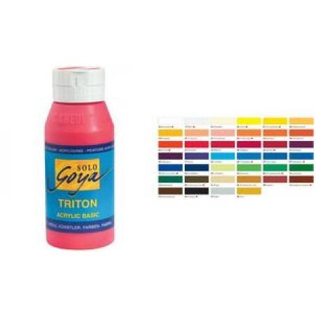 "Peinture acrylique SOLO Goya ""TRITON Acrylic""-Jaune"