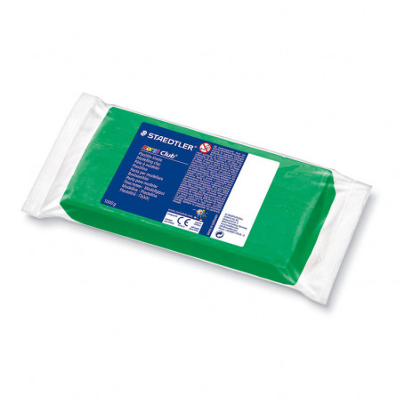 Pâte à modeler plastiline Noris - Vert