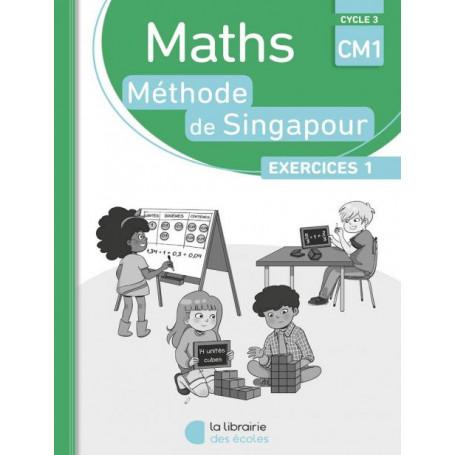 Méthode de Singapour – Édition 2019 – Pack de 10 cahiers d'exercices 1 – CM1 – Pratique autonome