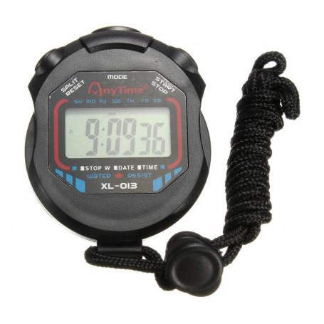 Chronomètre de Sport avec date et heure - Résistant à l'eau