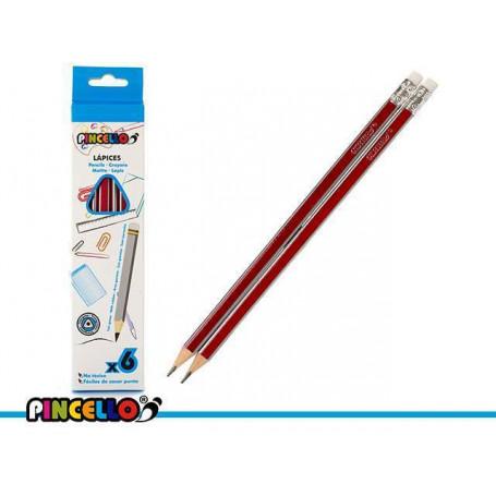 Lot de 6 crayon Pincello Hb - Prix éco.