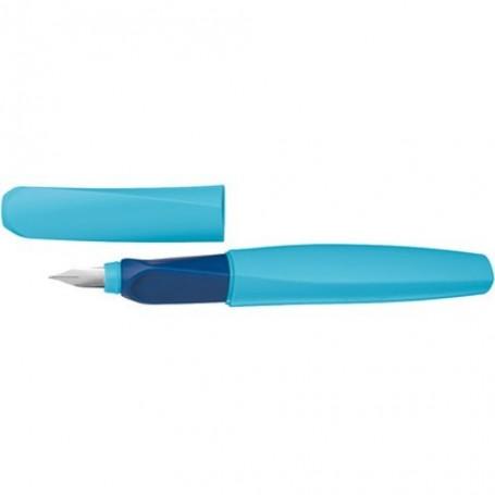 Stylo à plume Pelikan Twist Stylo plume pointe Moyenne - Bleu