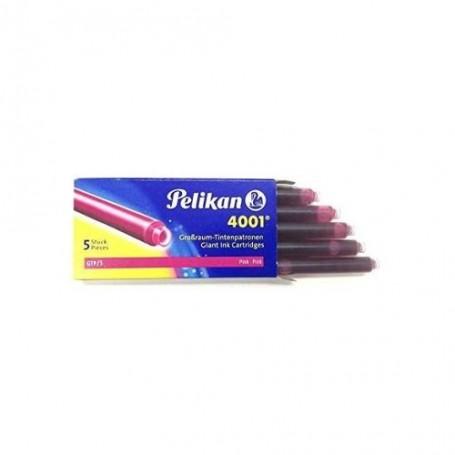 Cartouches d'encre Pelikan grand volume 4001 GTP/10 - Violet