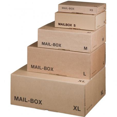 Carton d'expédition Smartboxpro MAIL BOX marron