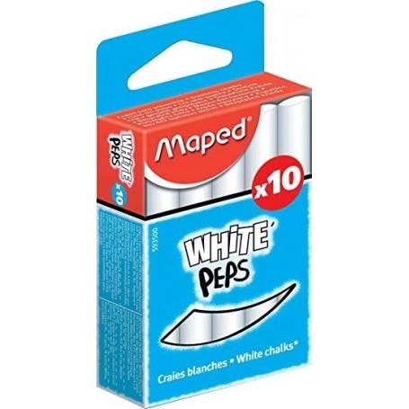Craie pour tableau Maped White'peps blanc
