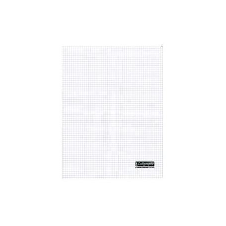 Cahier Calligraphe 24X32 96p 90g  petits carreaux  5x5 à couverture plastique