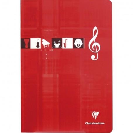 Cahier de Musique et Chant Clairefontaine 21X29.7 2x28p 90g