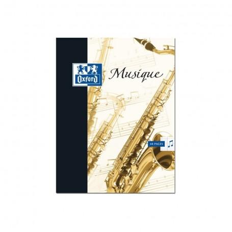 Cahier de Musique Oxford 17X22 2x24p 90g