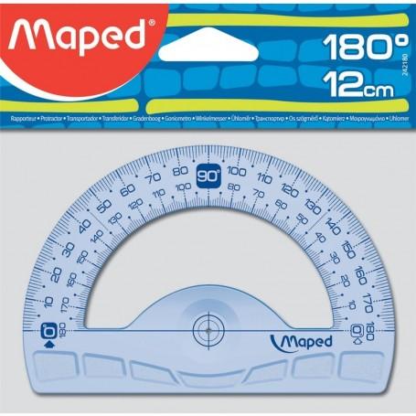 Rapporteur Maped Geometric 180° en plastique 12cm