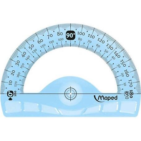 Rapporteur Maped Flex 180° en plastique 12cm