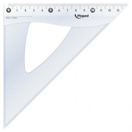 Equerre Maped Cristal 45 degrès 21cm