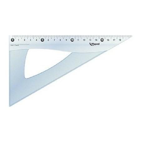 Equerre Maped Cristal 60 degrès 21cm
