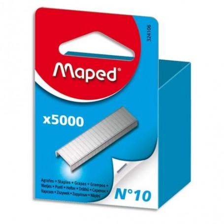 Agrafes Maped N10 Uni  zingué 5000 pièces