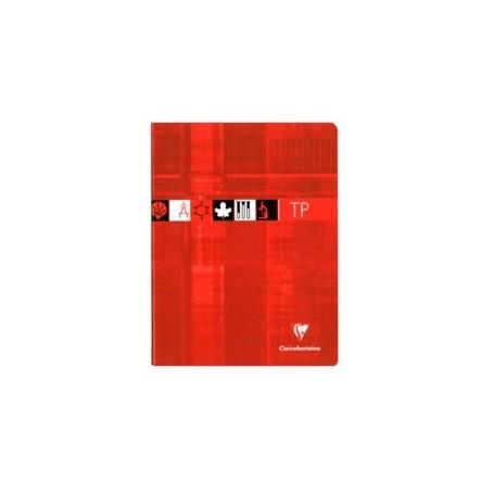 Cahier Travaux Pratique Clairefontaine 17X22 64p 90g  grands carreaux Séyès