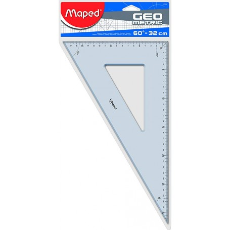 Equerre Maped Metric 60 degrès 32cm