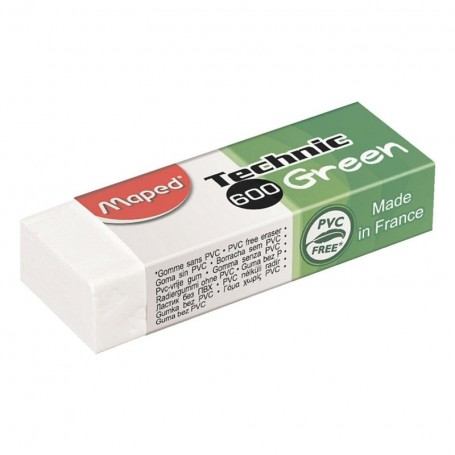 Gomme Blanche  Maped Green Technic 600