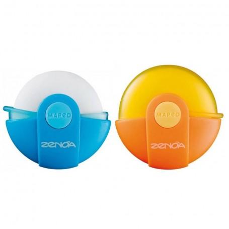 Gomme Maped Zenoa avec etui de protection rotatif