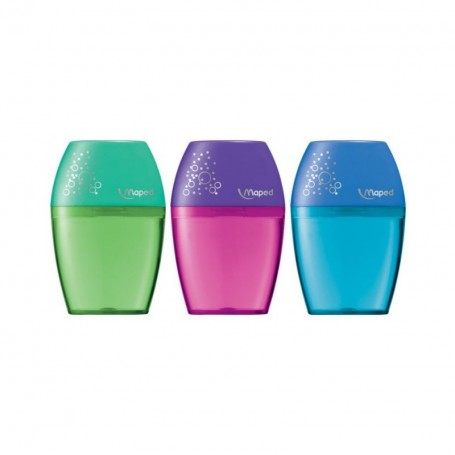 Taille-crayons double Maped Shaker avec réservoir