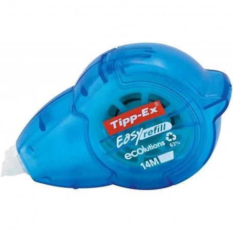 Roller de correction Tipp-Ex Ecoulutios Easy Refill 5mmX14m rechargeable