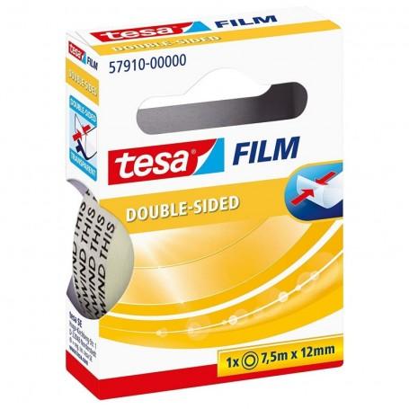 Ruban adhésif transparent Tesa double face 12mmX7.5m