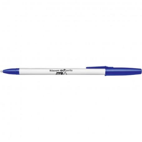 Stylo à bille Eco Stick pointe moyenne Bleu